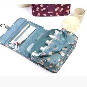 Hanging Travel Toiletries Water Repellant Cosmetic